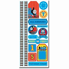 Thomas the Tank Engine Accent Paper Sticker with Foil