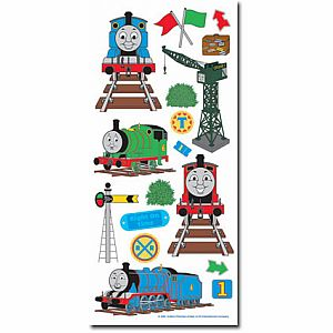 Thomas Accent Clear Stickers