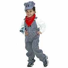 Jr. Train Engineer Suit, Child Size 6-8