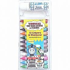 Thomas Crayons with Sharpener