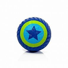 "7"" Star Blue/Green Playball"