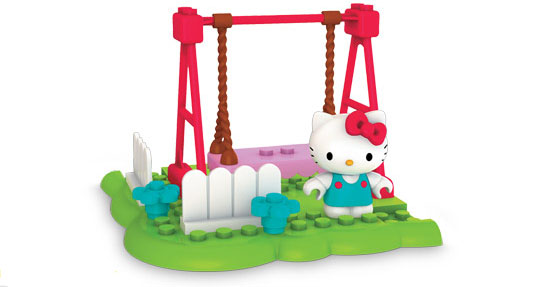 Hello Kitty Mega Bloks Playground From Mega Brands And