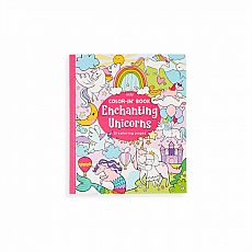 Color-in' Book - Enchanting Unicorns