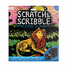 Scratch & Scribble - Colorful Safari