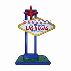 Light-Up Flashing Las Vegas Sign