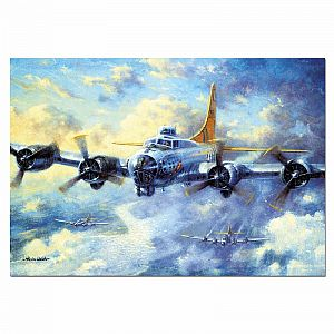 B17G Flying Fortress 1000-pc Jigsaw Puzzle