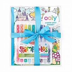 Princesses and Fairies Stampables Coloring Pack
