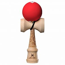 Alex Smith Pro Model Kendama - v4 - Red Maze