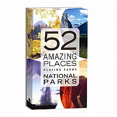 52 Amazing Places Playing Cards - National Parks
