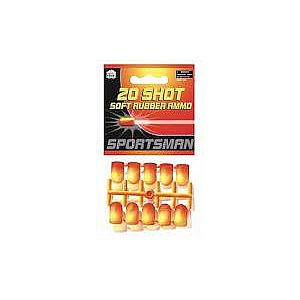20 Shot Soft Rubber Ammo