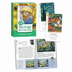 Go Fish Card Game & Book - Van Gogh & Friends