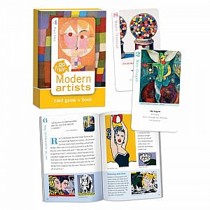 Go Fish Card Game & Book - Modern Artists