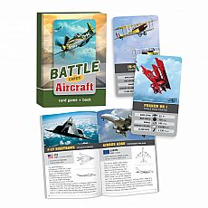 Battle Cards Card Game & Book - Aircraft