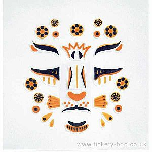 Face Stickers Leopard