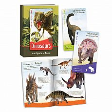 Wild Cards Card Game & Book - Dinosaurs