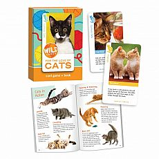 Wild Cards Card Game & Book - For the Love of Cats