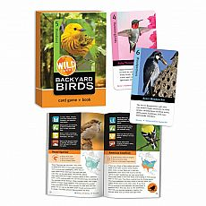 Wild Cards Card Game & Book - Backyard Birds