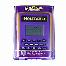 Classic Solitaire Handheld Electronic Game