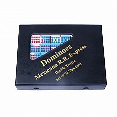 Double Twelve Dominoes - Mexican Train