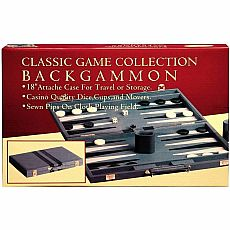 Backgammon Attache 18""