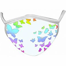Wild Smiles Face Mask - Adult - Butterflies