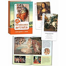 Go Fish Card Game & Book - Renaissance Artists