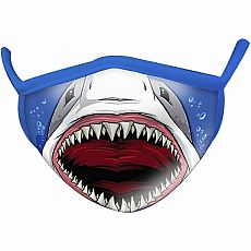 Wild Smiles Face Mask - Child - Shark