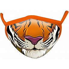 Wild Smiles Face Mask - Child - Tiger