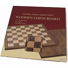 Premium Quality Walnut Chessboard 18