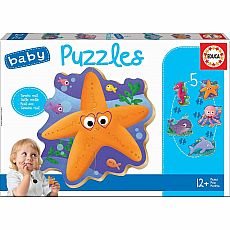 Sea Animals Baby Puzzle