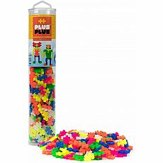Plus-Plus Tube - Neon Mix 240-pc