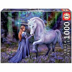 Bluebell Woods 1000-pc Jigsaw Puzzle