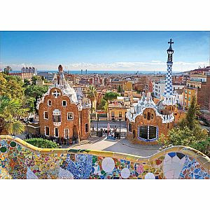 Barcelona View from Park Guell 1000-pc Jigsaw Puzzle