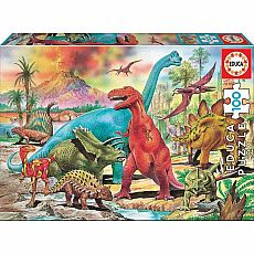 Dinosaurs 100pc Jigsaw Puzzle