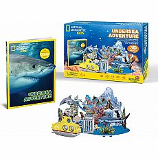 Undersea Adventure 3D Puzzle 63pc with Booklet