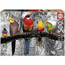 Birds of Paradise 500-pc Jigsaw Puzzle