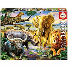 The Big Five 1000-pc Jigsaw Puzzle
