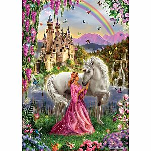 Fairy and Unicorn 500-pc Jigsaw Puzzle