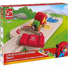 Color & Shape Sorting Track
