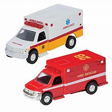 Diecast Ambulance