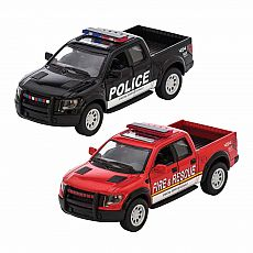 Diecast Raptor Fire/Police Rescue