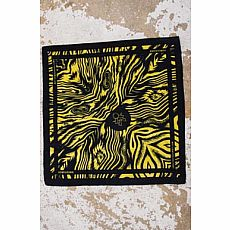 Homegrown Bandana - Gold/Black