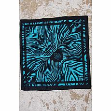 Homegrown Bandana - Turquoise/Black