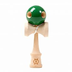 Tribute 5 Hole Kendama - Forest Green