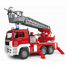 MAN Fire engine with selwing ladder