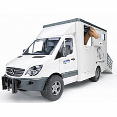 MB Sprinter Animal Transporter with 1 Horse