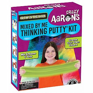 Thinking Putty Glow in the Dark Mixed by Me Kit