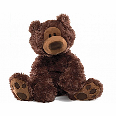 Philbin Chocolate Bear 12""