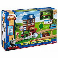 Battery-Operated Percy & the Mail Station Set