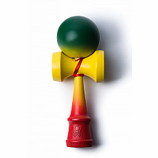 F3 aTack Fully Faded Kendama - Rasta